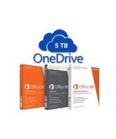 Купить Диск OneDrive 5 Tb + онлайн Office 365