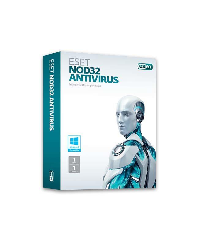 Купить ESET NOD32 Антивирус для 1 ПК на 1 год