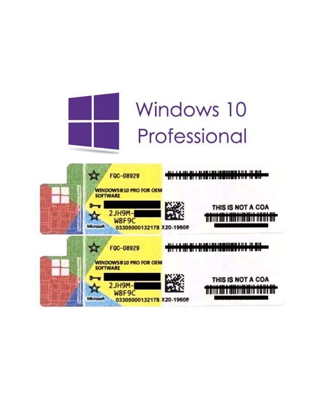 Microsoft Windows 10 Professional (стикер) OEM Купить Ключ