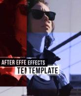 Купить готовый проект Adobe After Effects - Энергичное музыкальное видео - скачать шаблон